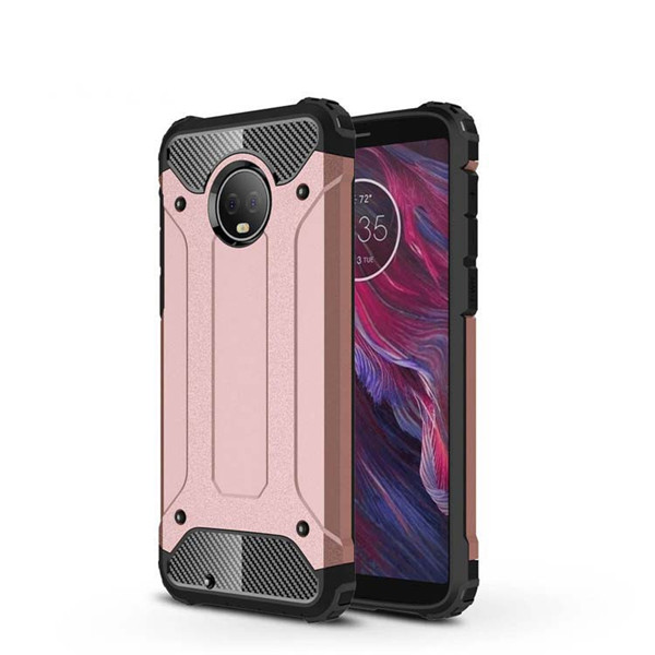 Moto G6 2018 Newest PC TPU Luxury Phone Case