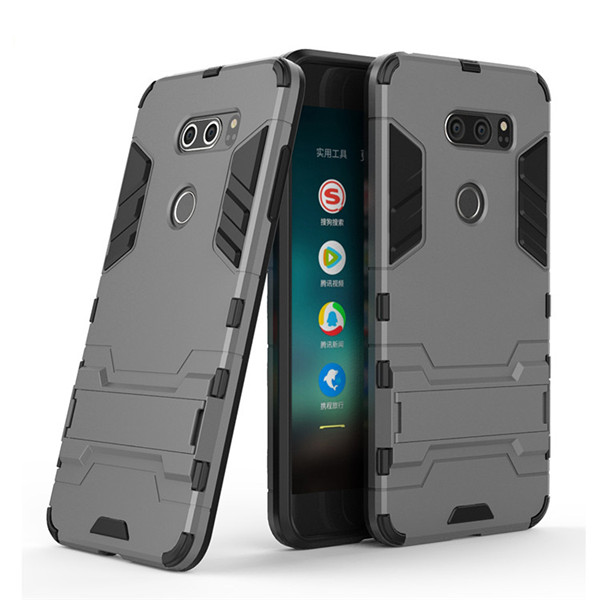 Shockproof  Case,Heavy Duty PC TPU Double Layer Phone Cover For LG V30