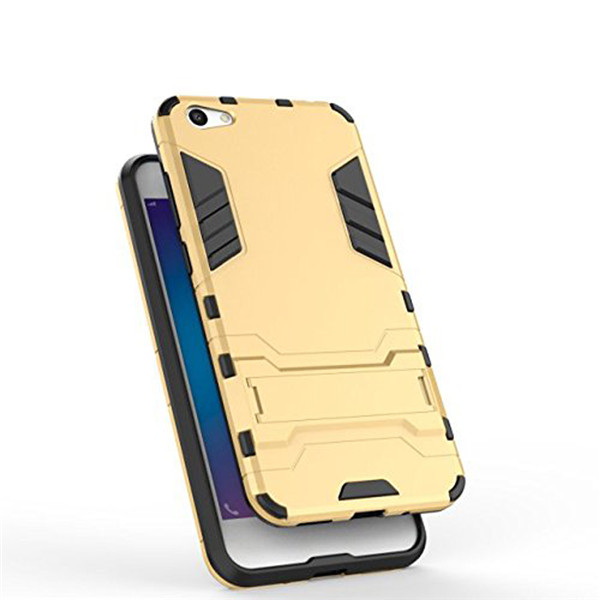 Tough Armor Back Stand Phone Case For Vivo Y66