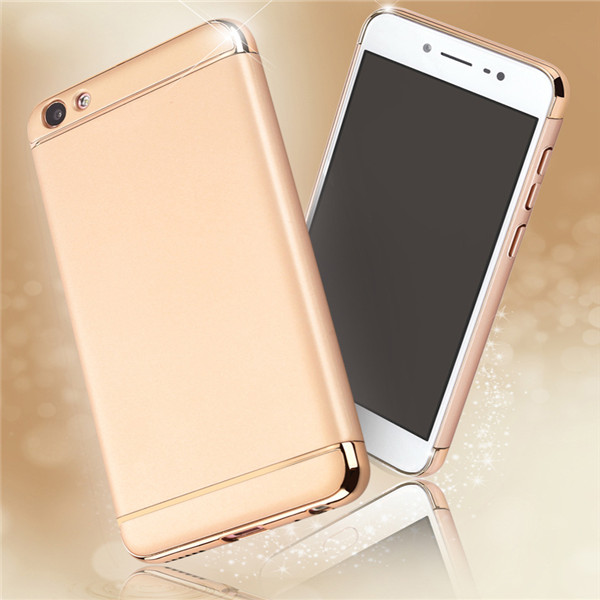 3 in 1 Hybrid Rubber Phone Cover For Vivo V7 Plus