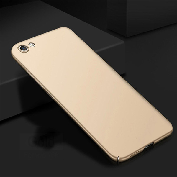 Ultra Slim Hard Rubber Back Case For Vivo Y66