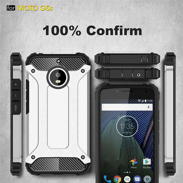 Shockproof Armor Case For Motorola Moto G5s