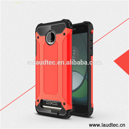 Shockproof armor case for  Moto Z play