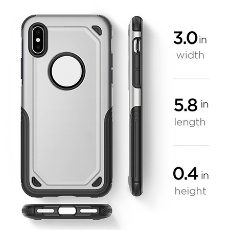 Shockproof case cover protective armor phone shell for IPhone X