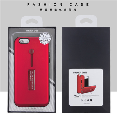 Ring Case Hybrid PC TPU Case For Iphone 6 New Armor Case