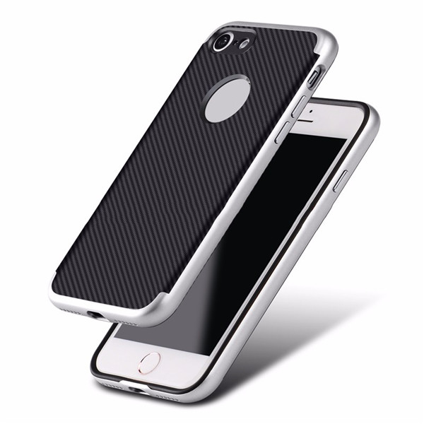 Hybrid Cover For Iphone8 TPU PC Shockproof Shell​