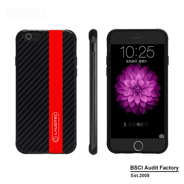 Laudtec Brand Carbon Fiber Case For Iphone 6