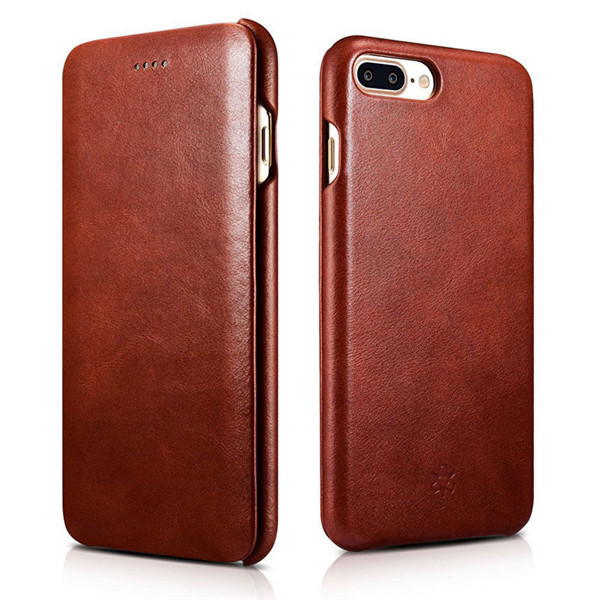 second layer leather case for iphone 7 plus