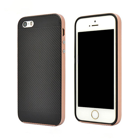 High Quality Back TPU+PC Case For iPhone5