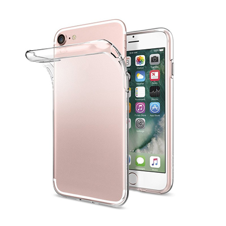 Silicone TPU transparent  case for iphone7