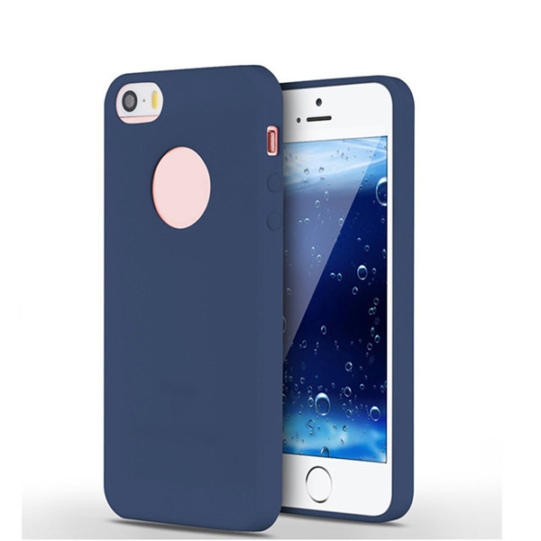 Luxury liquid silicone rubber back case for iphone 5