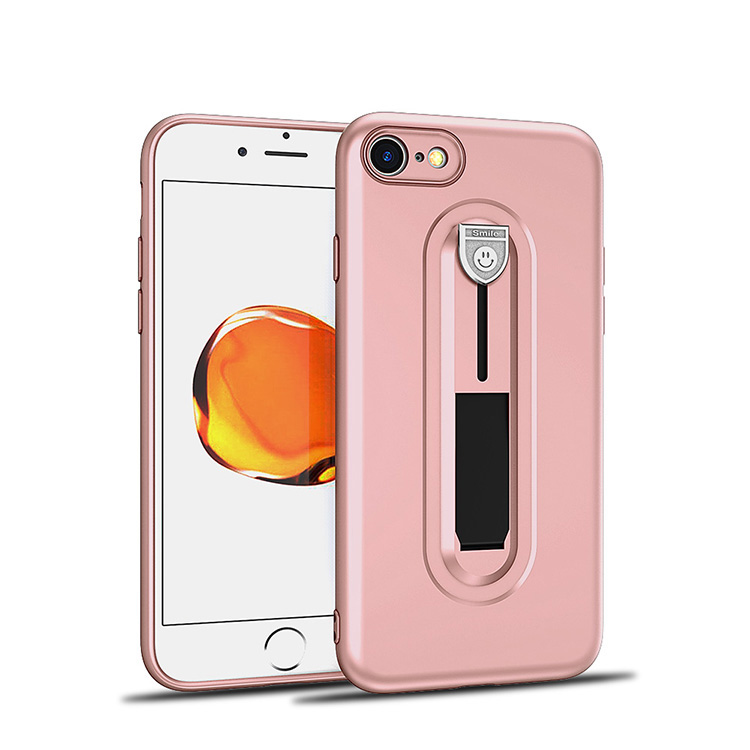 Phone Case Flexible Ring Cover TPU Case for iphone 8 Case