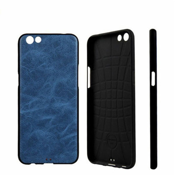 Ultra-thin Phone Cover PU Leather TPU Protector Case For OPPO R9S Leather Case