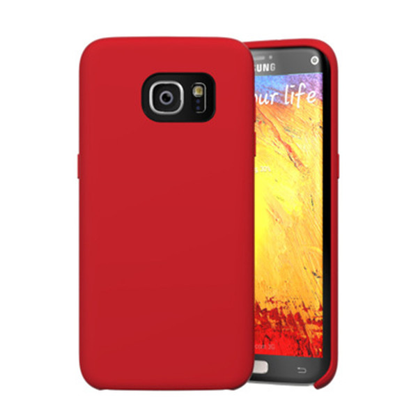 High Quality Liquid Silicone Case For Samsung S7