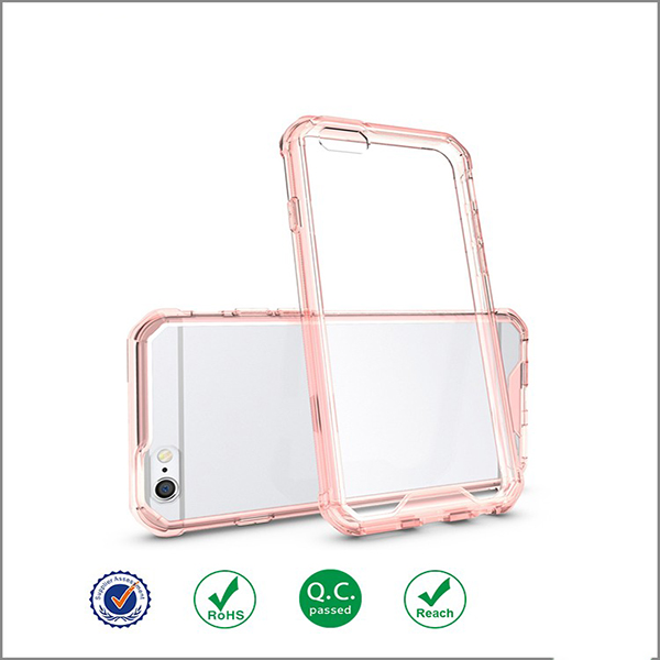 Hybrid Clear Bumper Back Cover Case for iPhone 6/6s/6 plus