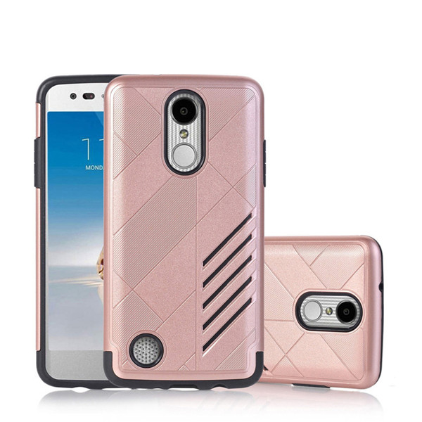 Hybrid Armor Tough Rugged Tpu+Pc For Lg K8