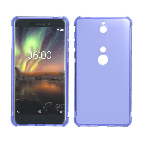 Shockproof corner TPU Phone Case for NOKIA 6 Case