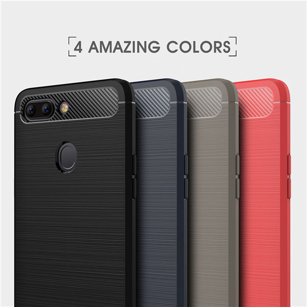Premium Carbon Fiber TPU Case For OPPO R15 Case