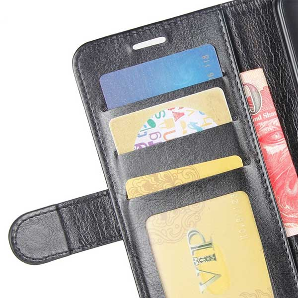 Fashion PU Leather Wallet Flip Case for Galaxy S9
