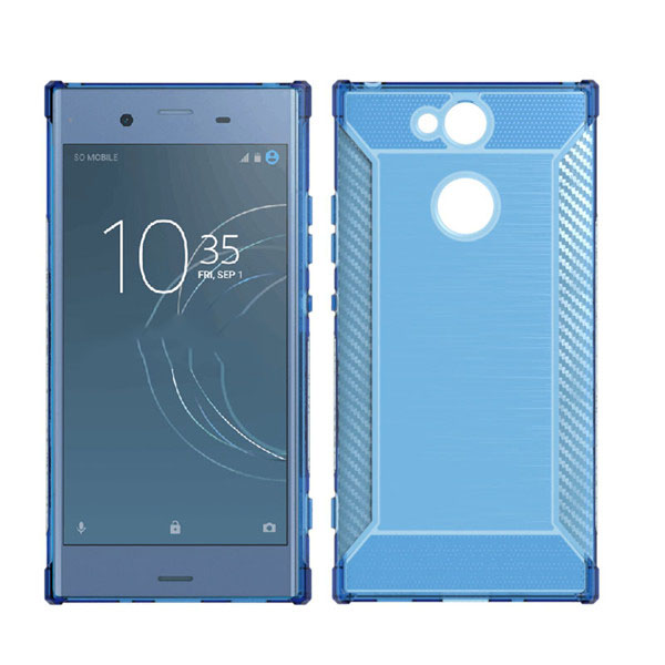 Brush Shockproof TPU Case for SONY Xperia XA2 Ultra Case