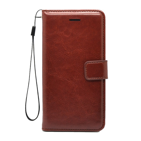Luxury Leather Stand Flip Wallet Card Cover for Google
