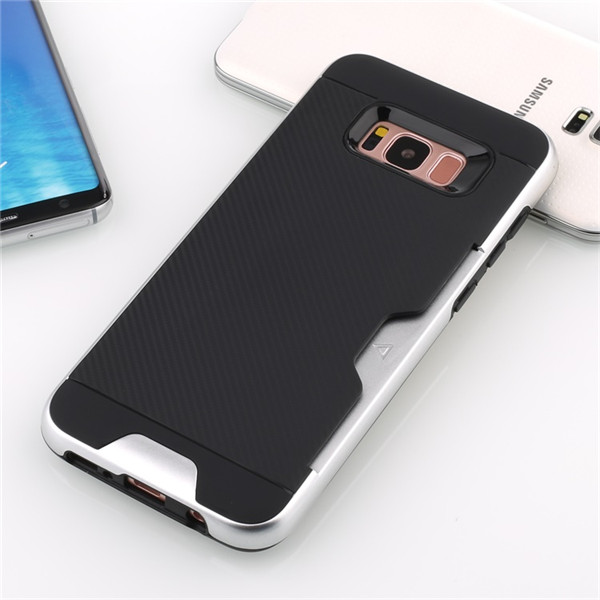 Phone accessories Brushed Texture Carbon Fiber Case For Samsung