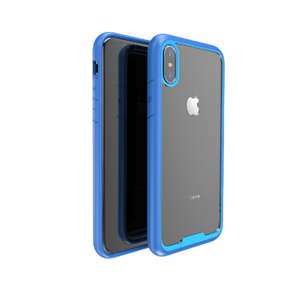 New product fashion style dual color TPU+PC case for iPhone x