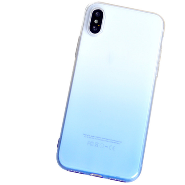 Colorful Soft TPU Lightweight Cover Case For Iphone X
