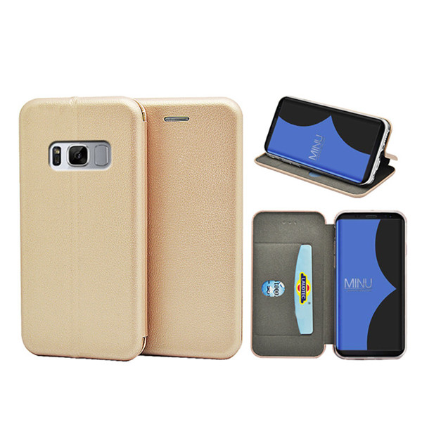Premium Leather Wallet Cover For Samsung Galaxy S8