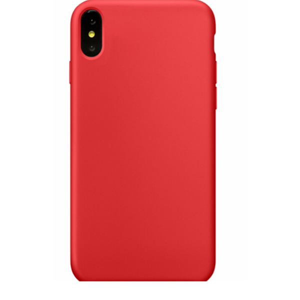 Liquid Silicone Case Gel Rubber Shockproof Phone Cover For iPhone X