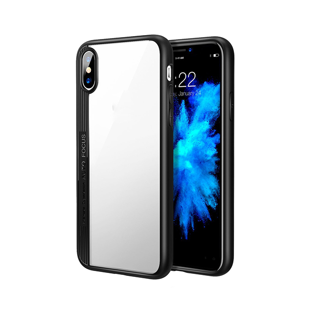 Slim TPU+PC HD Transparent Protective For Iphone X​