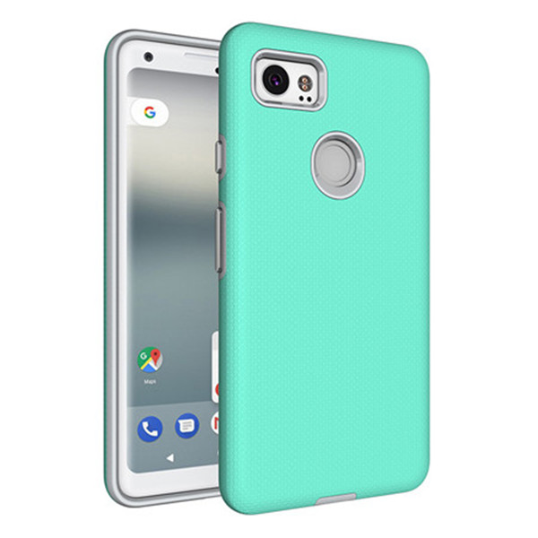 Slim TPU PC Mobile Protective Case Cover For Google Pixel 2