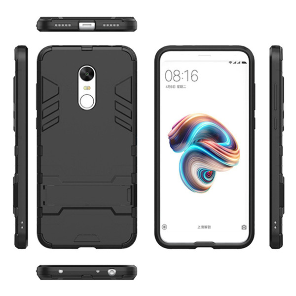 Layers Hybrid Armor TPU&PC Case For Redmi Note 5