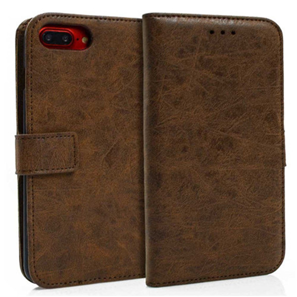 Second Layer Leather Wallet Case for Iphone 7plus