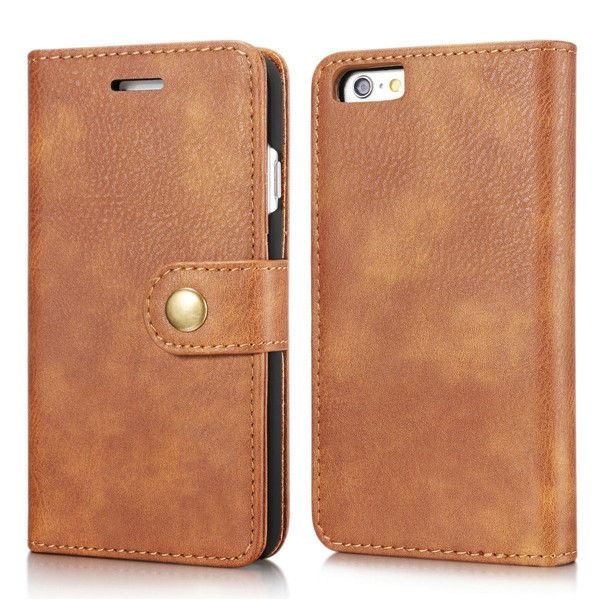 second layer leather Folio Flip Wallet for iphone 6