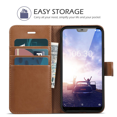 Luxurious Genuine Leather Case for Nokia X6