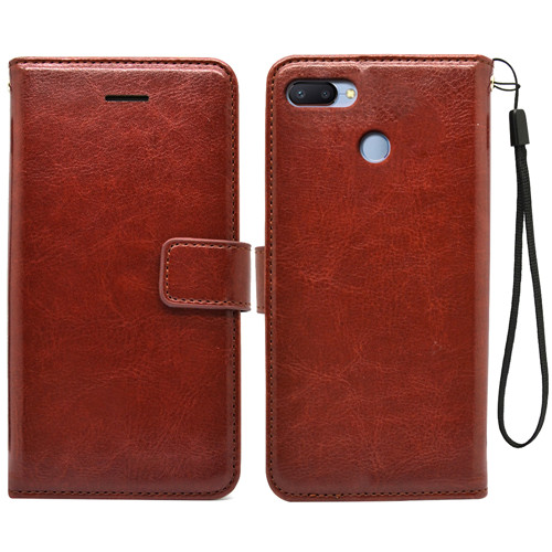 Luxurious Xiaomi Redmi 6 Pu Flip Leather Case