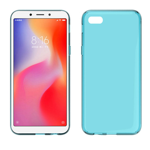 High Quality Glossy TPU Phone Case for Xiaomi Redmi 6A 2018