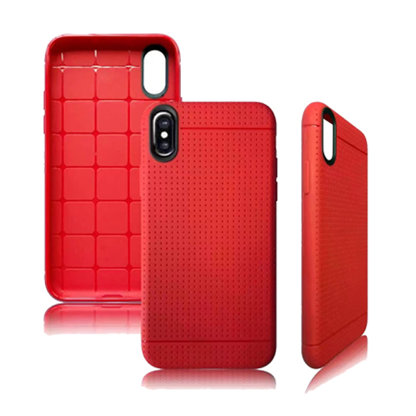 TPU Ultra Slim Silicone Back Case for iPhone X