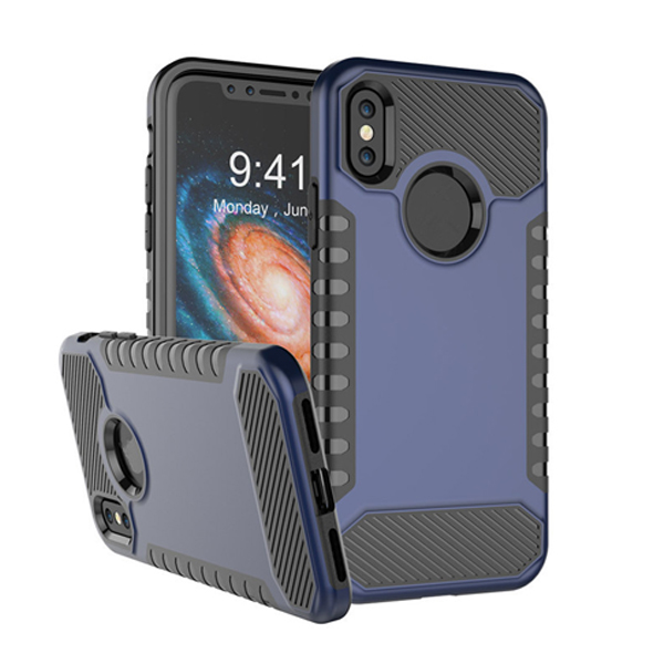 Silicone TPU+PC Case for Iphone X Cover Luxury
