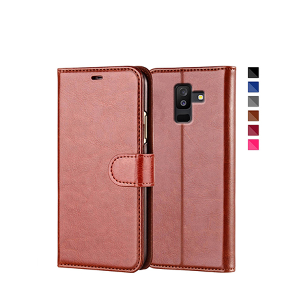 PU Leather Case For Samsung A9 Star Lite