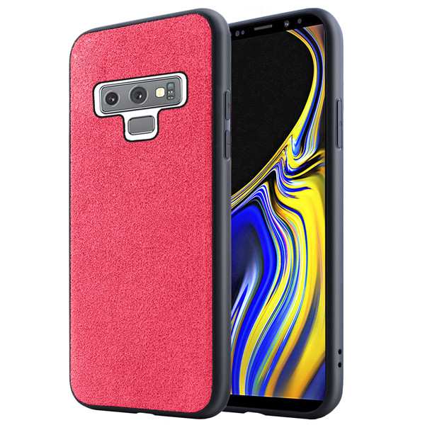 Laudtec Wholesale Luxury Suede cell case for Samsung Galaxy Note9