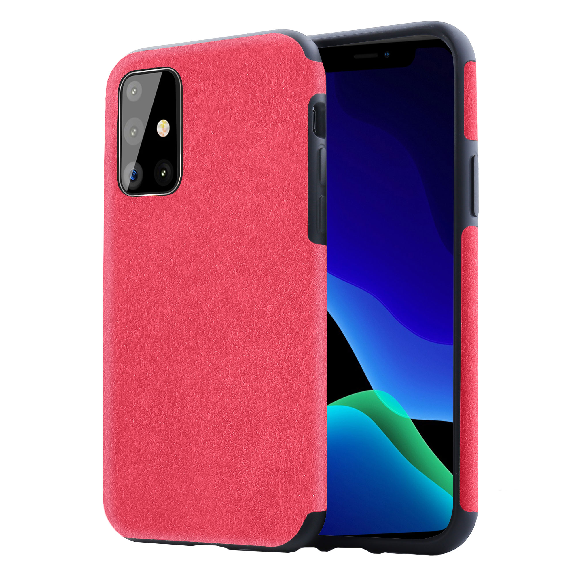 2020 Newest Trend Suede Leather Case for Samsung Galaxy S11