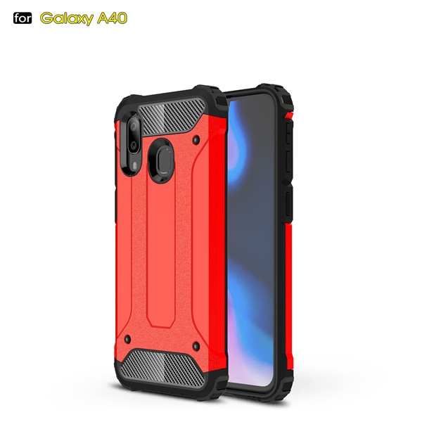 Protective Armour Hard Phone Case Cover For Samsung Galaxy A40