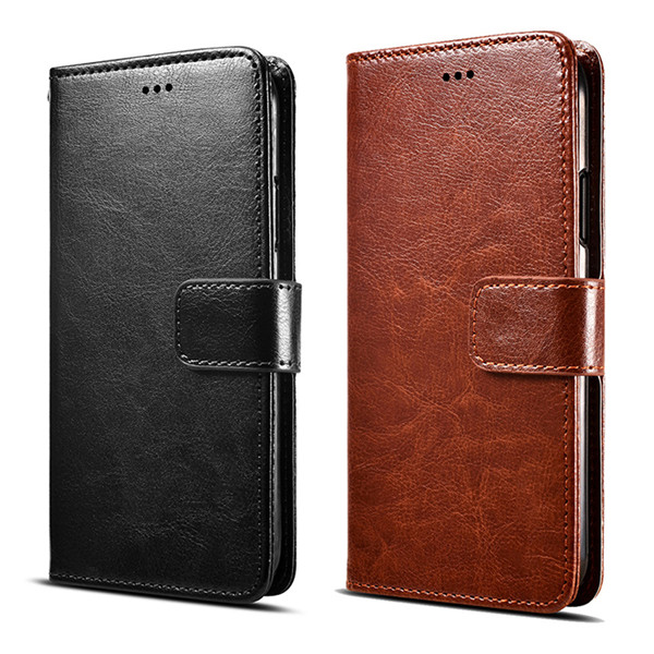 Luxury Leather Stand Wallet Flip Case For Samsung Galaxy M20