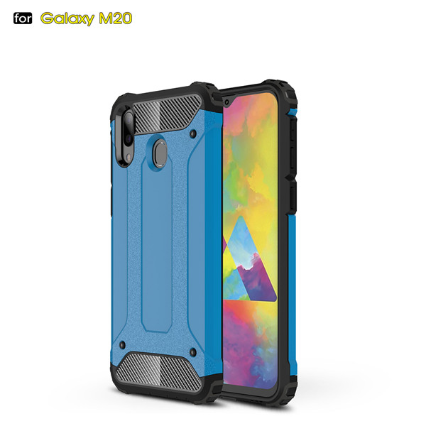 Sell Well Shockproof Anti-Flip Armour Shell Phone Case For Samsung Galaxy M20