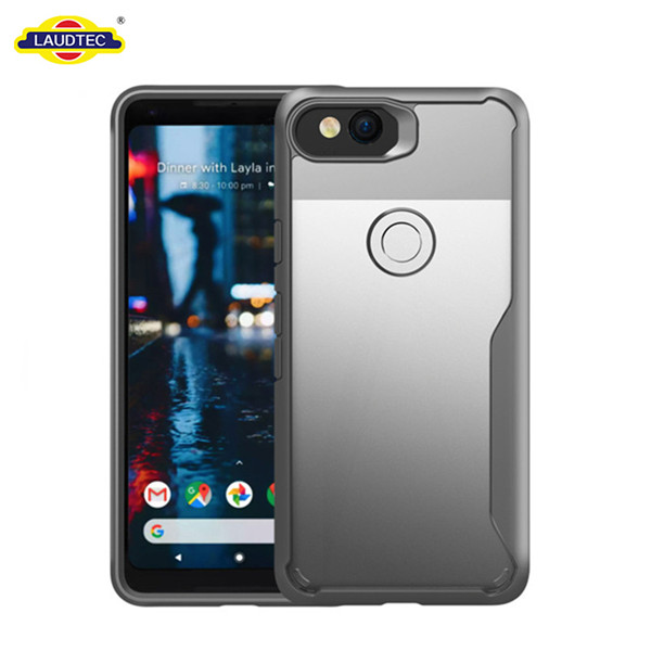 2019 new High quality TPU bumper PC cover case for google pixel 2 xl phone case