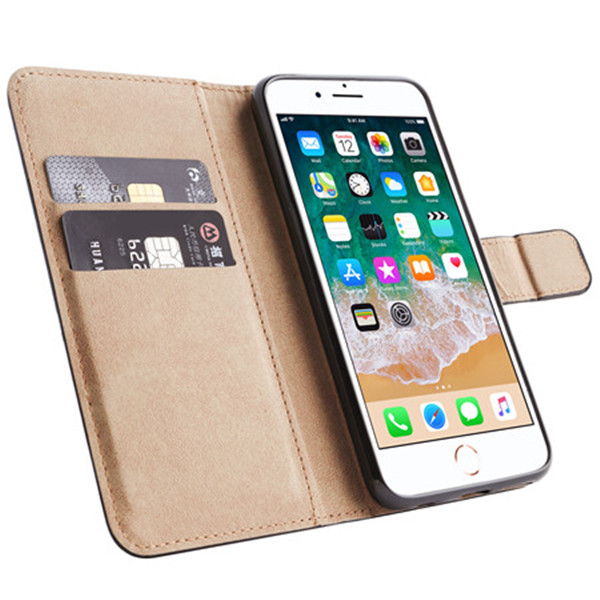 Genuine Detachable leather phone case for iphone X