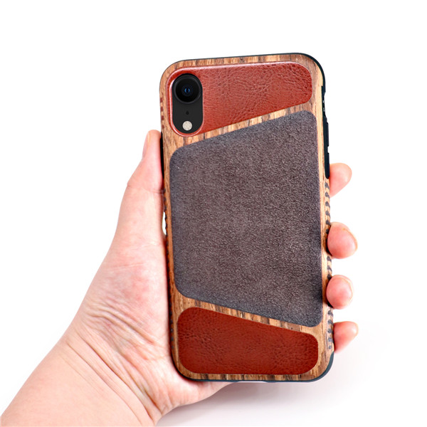 The phone case is made of non-slip material use for iphone xr