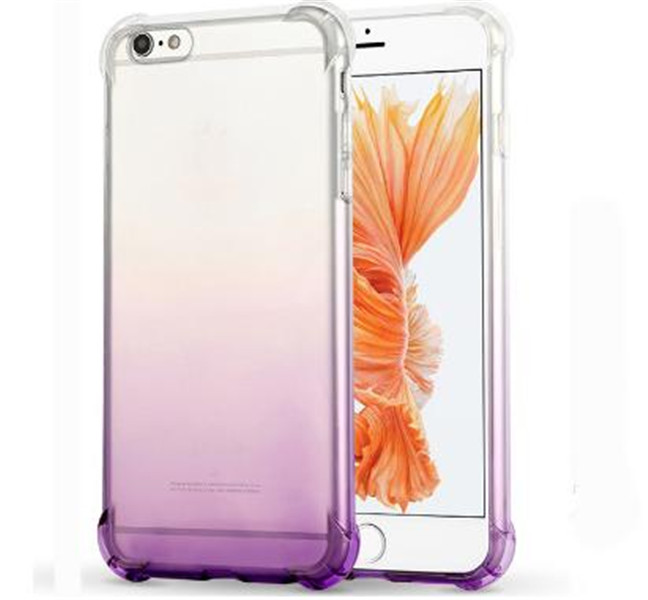 Gradient Color Soft TPU Cover for iphone 6